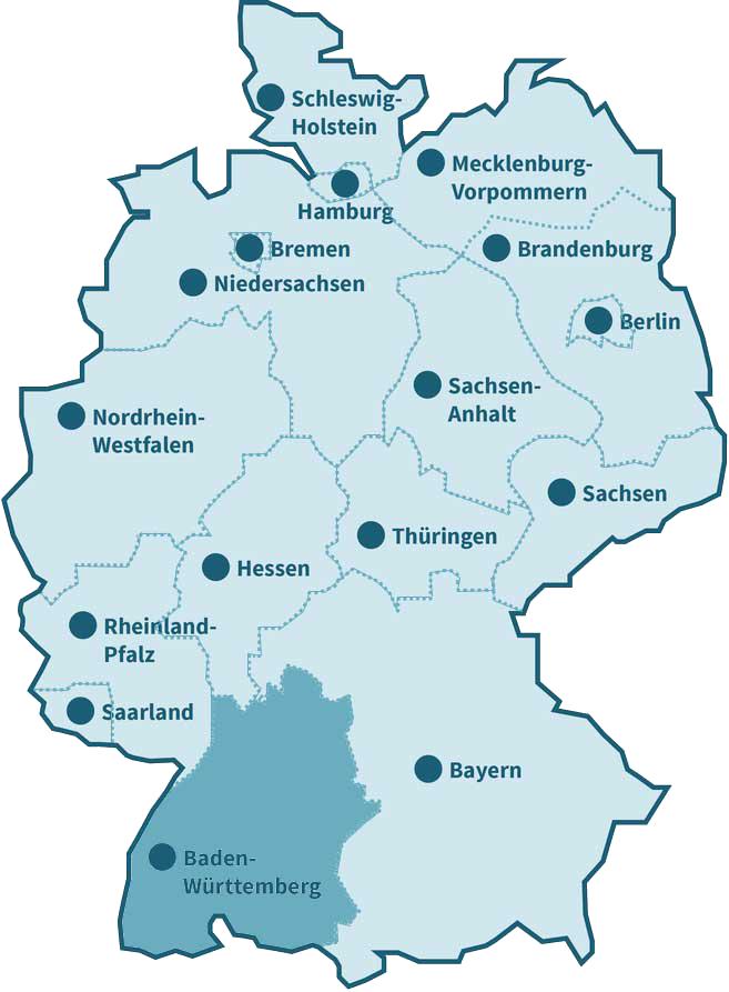 Baden Württemberg: dgvt